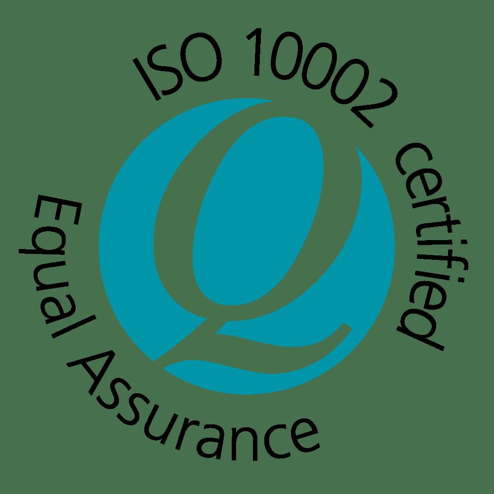 Q-Mark ISO 10002 logo